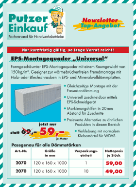 Newsletter Top-Angebot